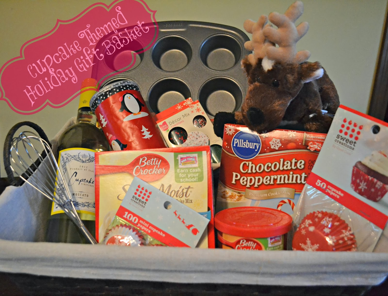 Themes For Gift Baskets: Gift Basket Shopping And Cupcake Batter Cookies