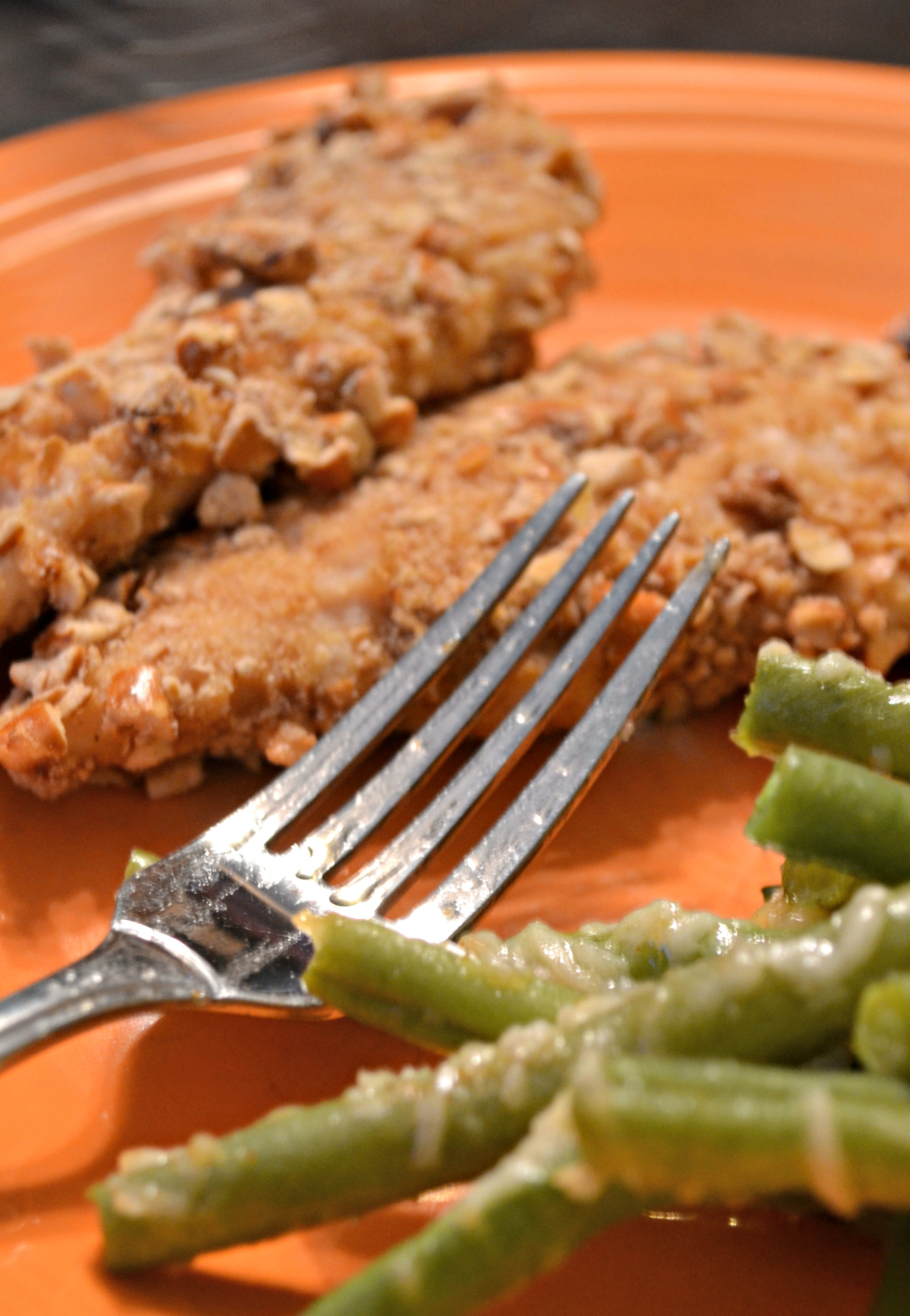 Gluten Free Pretzel Crusted Chicken Tenders