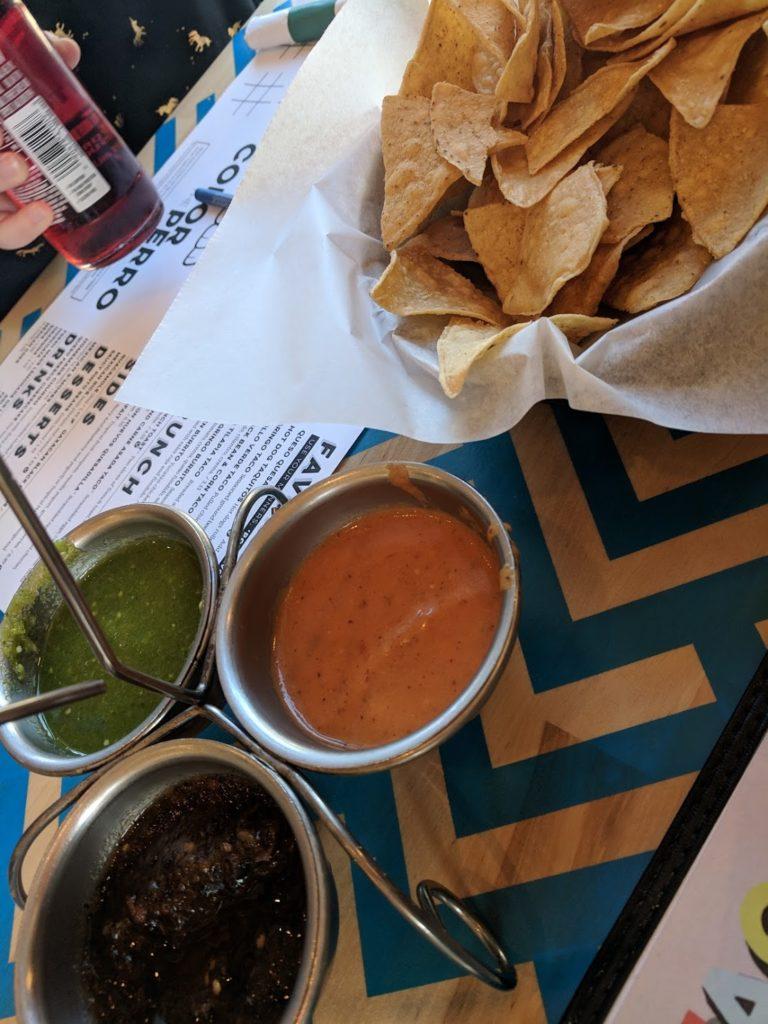 BelAir Cantina Milwaukee chips and salsa