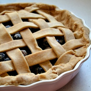 4 ingredient flaky pie crust