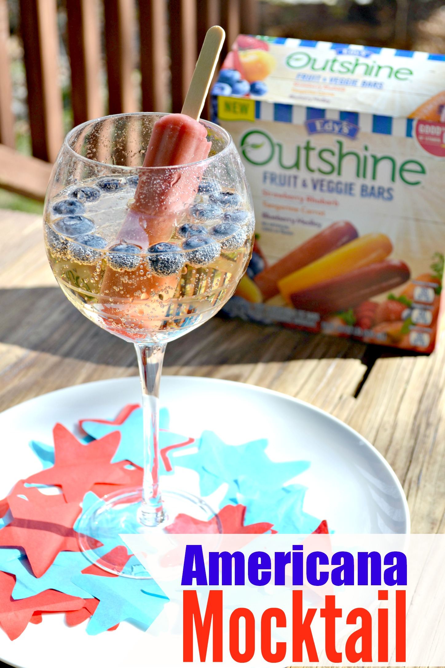 Americana Mocktail for the Kids!