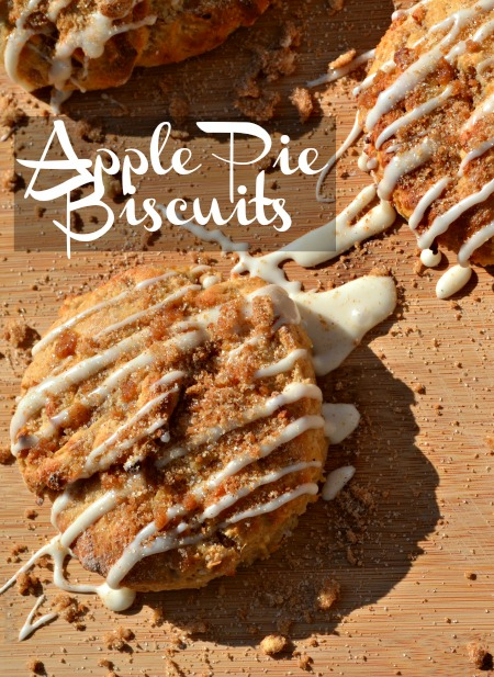 Apple pie biscuits recipe