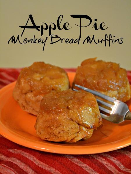 Apple Pie Monkey Bread Muffins