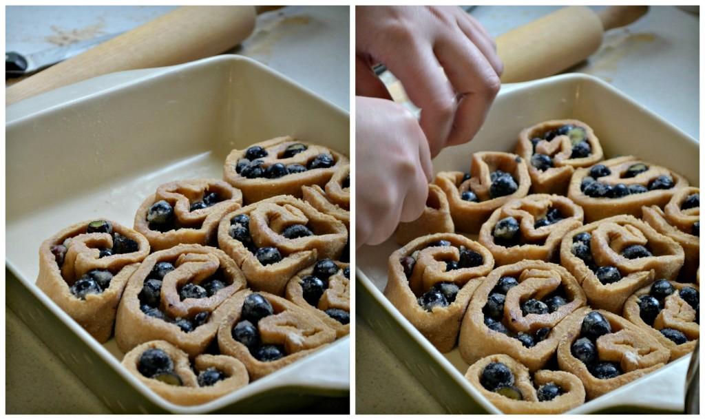 Blueberry Breakfast Rolls Recipe