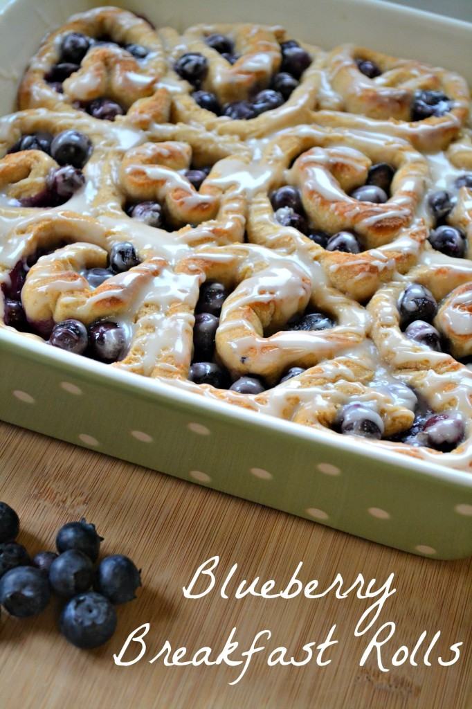Blueberry Rolls recipe
