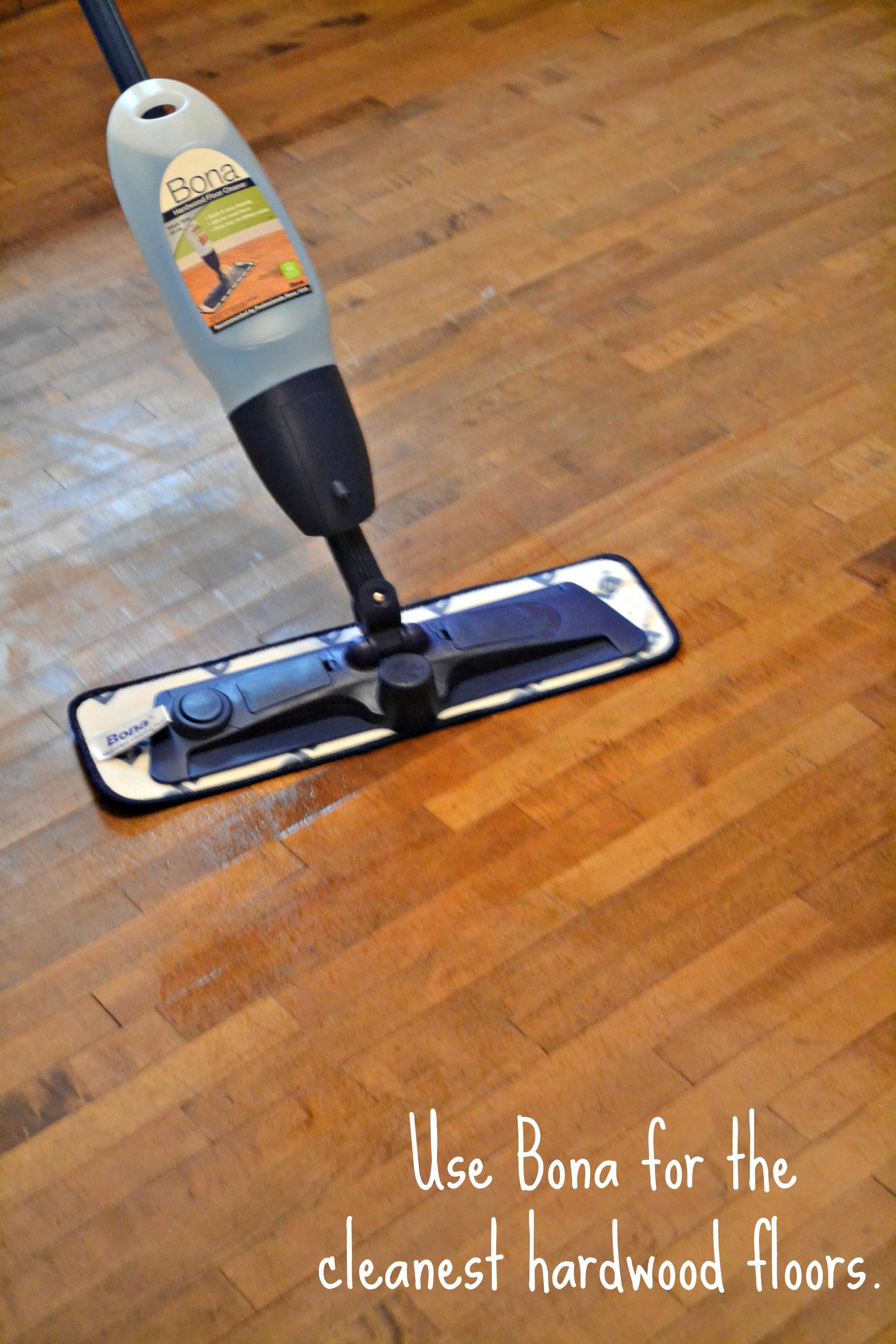 Bona for the cleanest hardwood floors