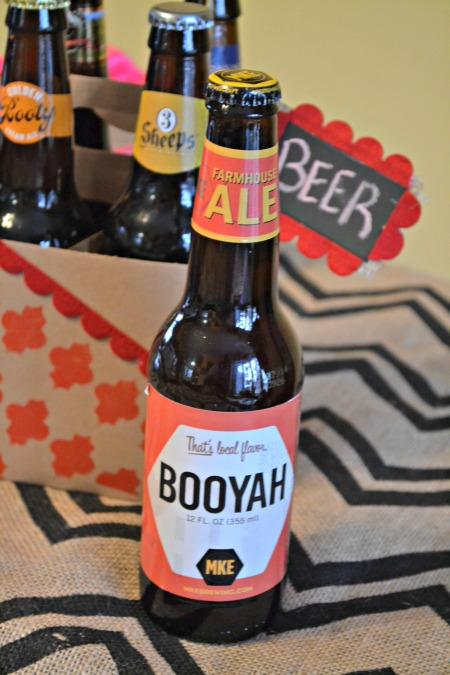 The perfect Valentine's Gift for him. (Psst, it's beer.) Get the build a 6 pack at your local store and decorate a beer carrier for a thoughtful gift.