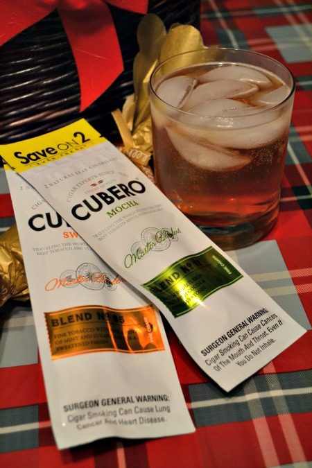 holiday party with Cubero Cigars