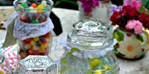 Budget friendly DIY candy buffet