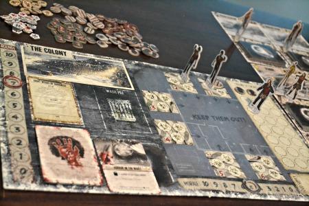 Dead of Winter Colony Board