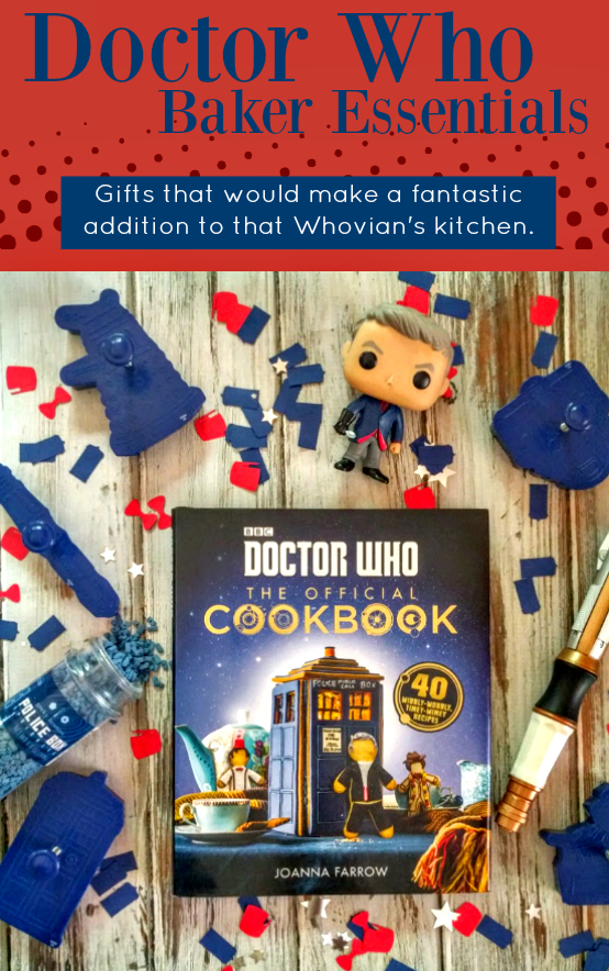 Doctor Who Baker Kitchen Essentials Gifts For Whovians