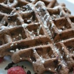 Chocolate Waffles recipe inspired by Parks and Recreation on Netflix
