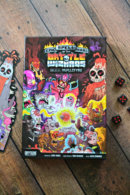 Epic Spell Wars of the Battle Wizards: Duel at Mt. Skullzfyre (The board game review with the longest title ever)