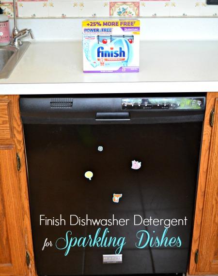 Finish Dishwasher Detergent  #SparklySavings #shop