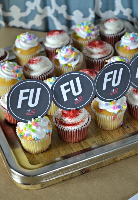 Frank Underwood cupcakes