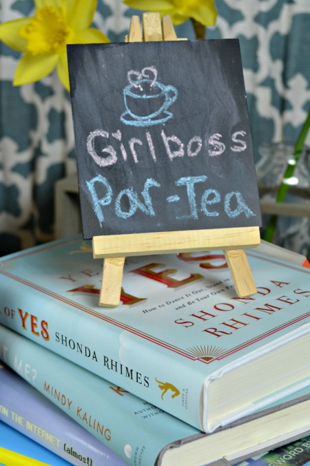 Girl boss book party