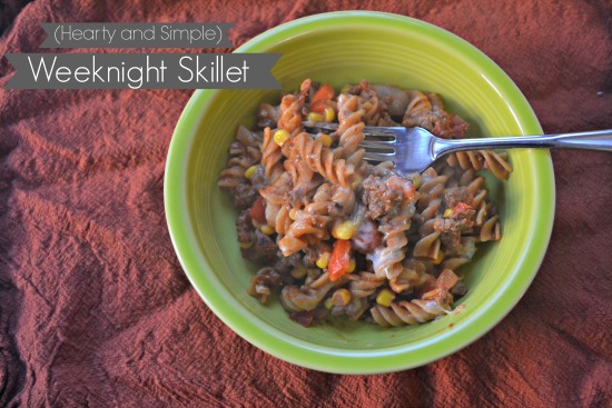 Heart and Simple weeknight skillet #Shop #MyPicknSave