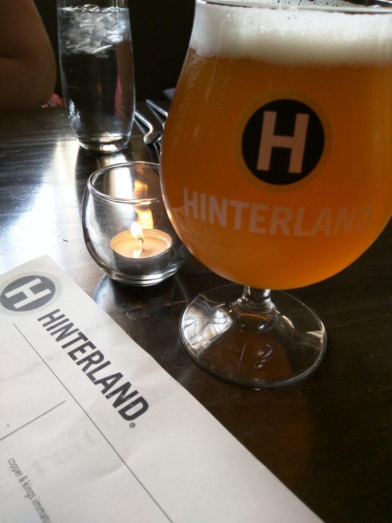 HInterland Brewing Saison Farmhouse Ale