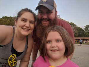 The 5K run and the 6-year-old
