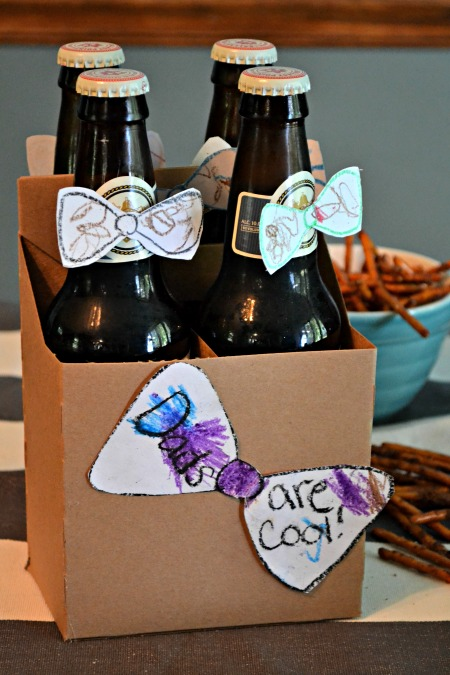 Quick Doctor Who Father's Day Craft (Beer)