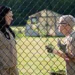 "Laura Prepon and Lori Petty in season 3 of Netflix's ""Orange is the New Black."" Photo Credit: JoJo Whilden/Netflix"