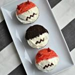 Marvel's Daredevil inspired cupcakes