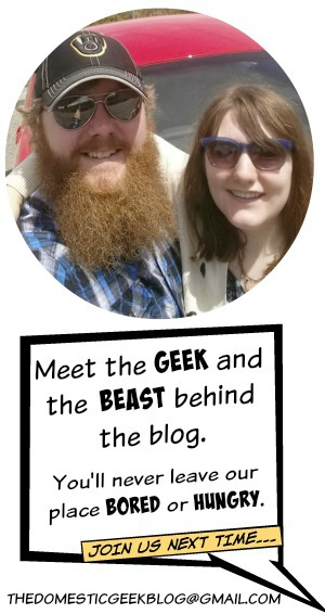 Meet the geek and the beast you'll never leave our place bored or hungry.