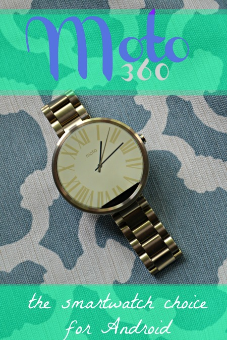 Moto 360 the smartwatch choice for Android