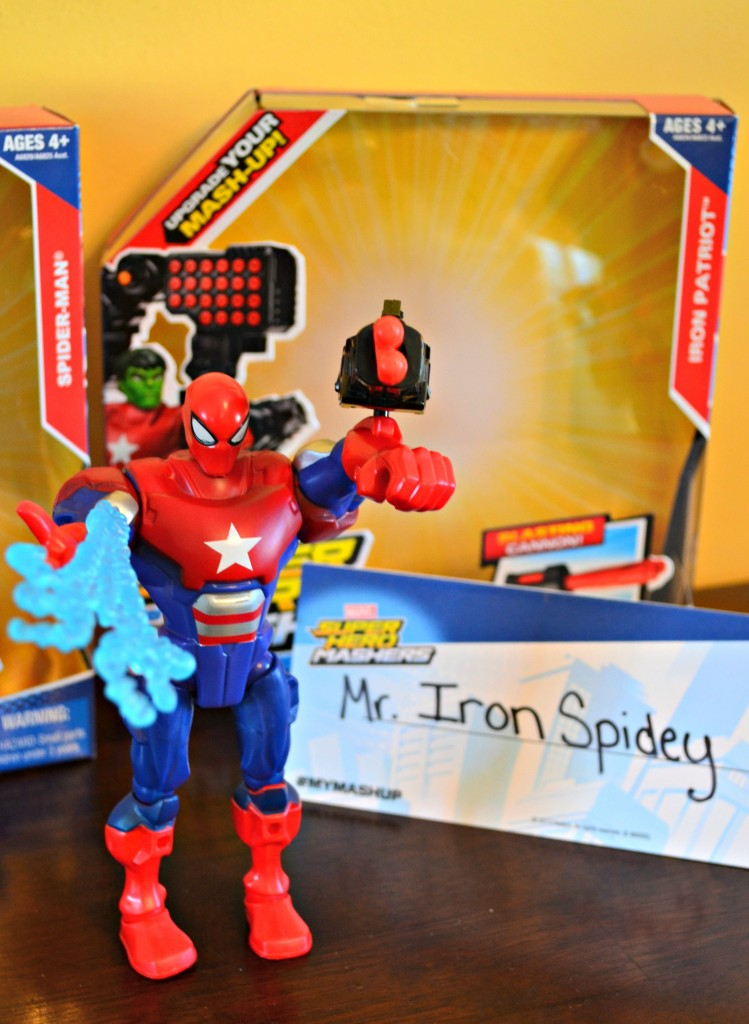Mr. Iron Spidey