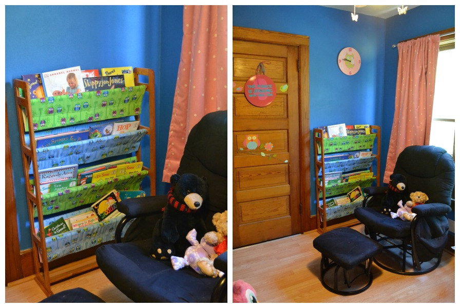 Owl Nursery reading corner