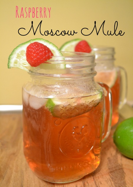 Simple Raspberry Moscow Mule Recipe