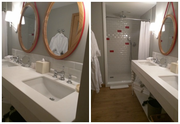 Reasons to stay at the virgin hotel, the amazing bathroom