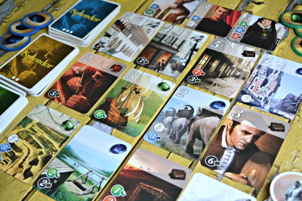 Splendor- a Bedazzled Board Game Review