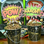 Super Heroes – Centerpieces for your comic book themed party