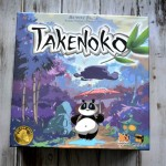 Takenoko board game, the game of growing bamboo before the hungry panda eats it all!