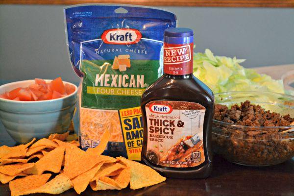 Tex Mex Party Salad ingredients