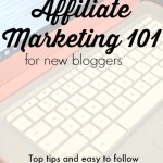 affiliate marketing 101 for new bloggers. Top tips and easy to follow walkthroughs on how to add links and widgets to your site.