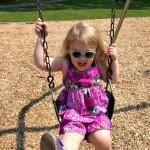 aliceana on the swing