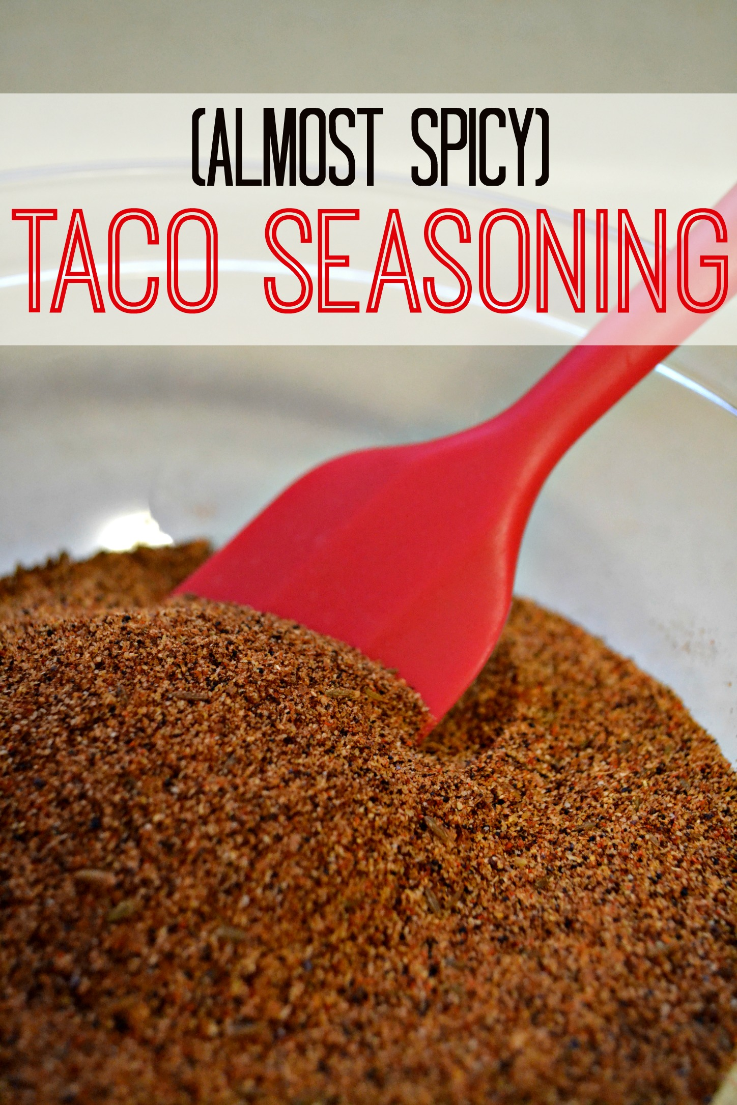 Almost Spicy Taco Seasoning