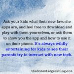 Dear Parents, Technology should never be the elephant in the room.