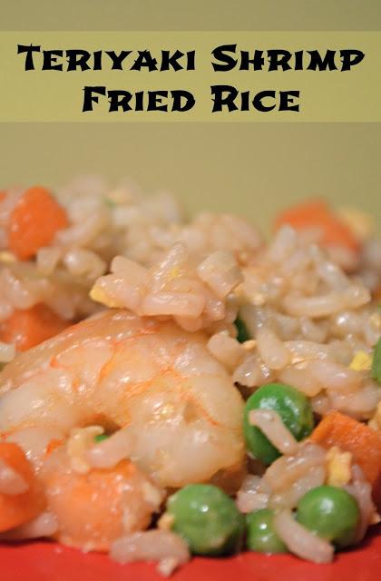 Teriyaki Shrimp Fried Rice