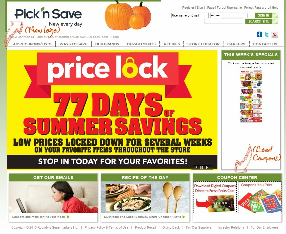 Picknsave com coupons
