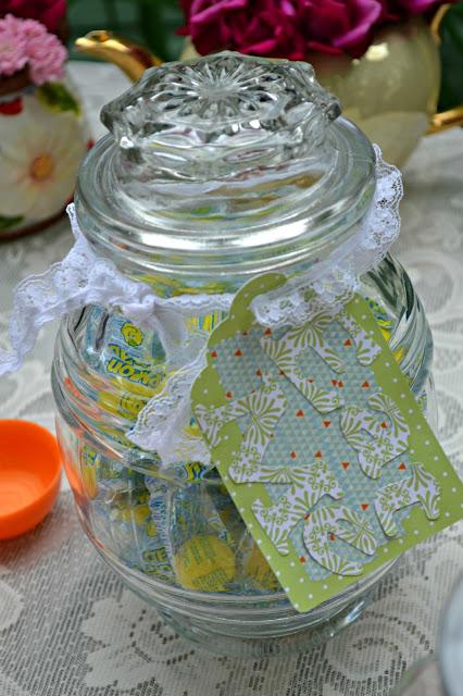 DIY candy buffet jar tags