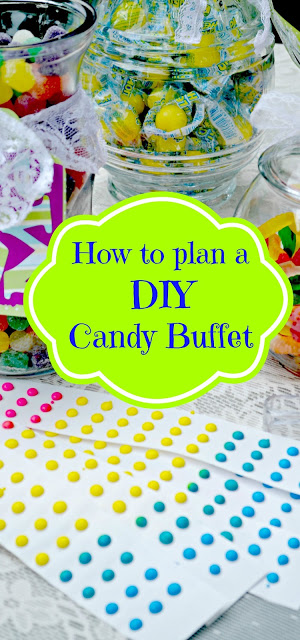 How to plan a DIY candy buffet