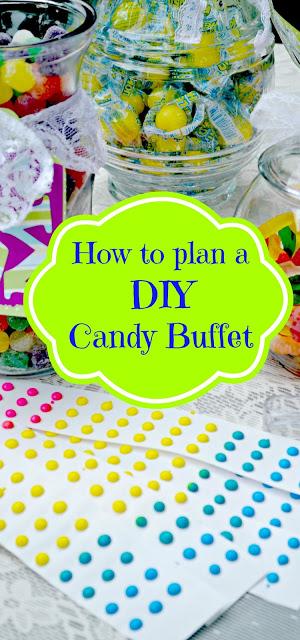 How to plan a DIY candy buffet
