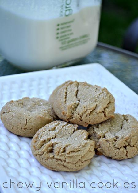 chewy vanilla cookies
