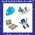 Why does my preschooler need to learn how to code? and the toys that make it fun.