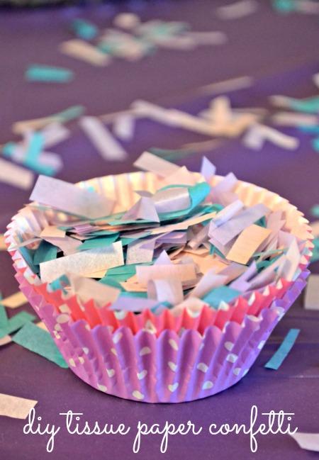 DIY Tissue Paper Confetti