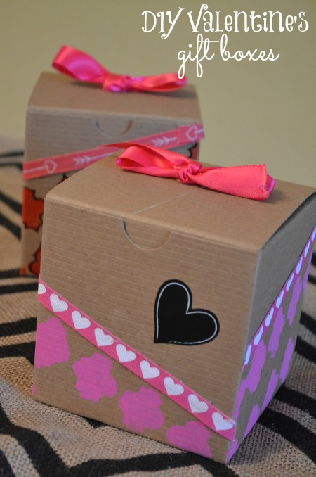 diy valentines gift boxes make these in just minutes