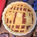 Geronimo! How to make a simple Doctor Who Pie.